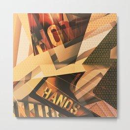Bauhaus in the movies Metal Print