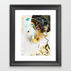 Celestial Honey Translator Framed Art Print