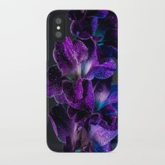 Blue and Purple  iPhone X Slim Case