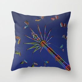 Colorful flyer | Bunter Flieger Throw Pillow