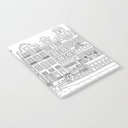 Amsterdam Line Art Notebook