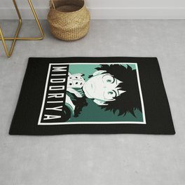 Midoriya Hope Poster V2 Rug
