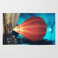 balloon Area & Throw Rugs featuring Balloon by John Turck