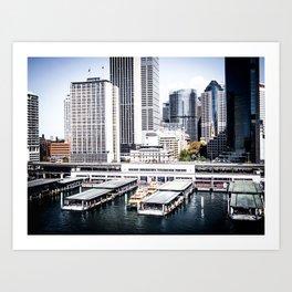 Circular Quay Art Print