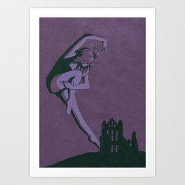 Dance of Whitby Art Print