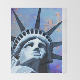Welcome to New York Throw Blanket