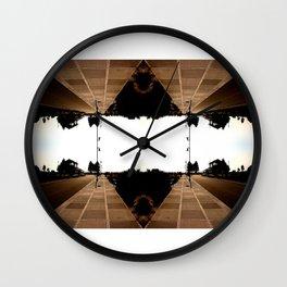 Sidewalks at the Marina Wall Clock