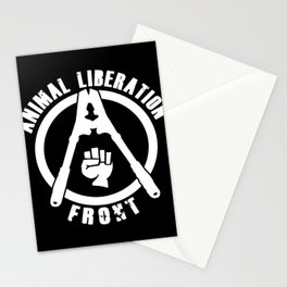 Animal Liberation Front Stationery Cards