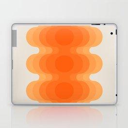 Echoes - Creamsicle Laptop & iPad Skin