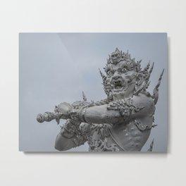 The White Temple - Thailand - 011 Metal Print
