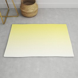 Yellow Light Ombre Rug