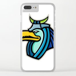Thoth Egyptian God Mascot Clear iPhone Case