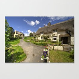 Lustleigh Thatch Canvas Print