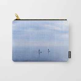 Couple Paddleboarding on Lake Ontario Carry-All Pouch