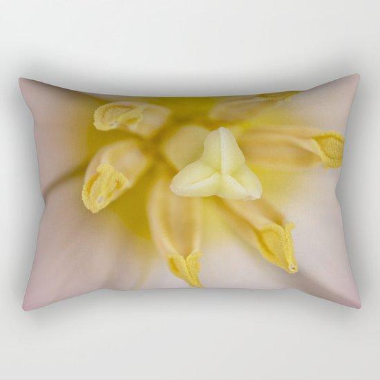 Inside a Tulip Rectangular Pillow