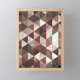 Abstract #829 Framed Mini Art Print