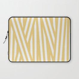 Ribbon Wrap, Yellow Laptop Sleeve