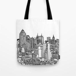 New York View 2 Tote Bag