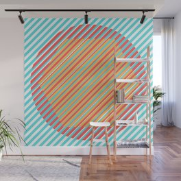Integrated Shapes Wall Mural