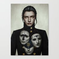 Canvas Prints featuring The Collector by Andre De Freitas