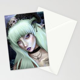 Gothic Succubus Stationery Cards