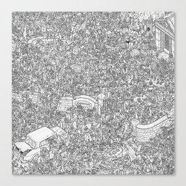 Outbreak! Canvas Print