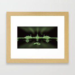 DMT: Between Worlds Framed Art Print
