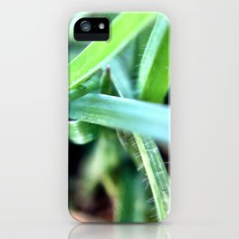 Grass. iPhone Case