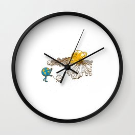 I hope you brought a lot of baggies Wall Clock