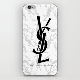Young | Savvy | & Lavish | YS&L iPhone Skin