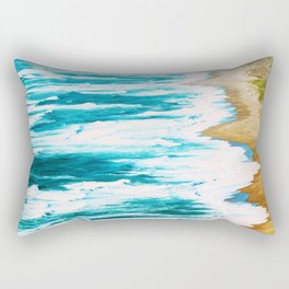Live By The Sea #society6 #decor #buyart Rectangular Pillow