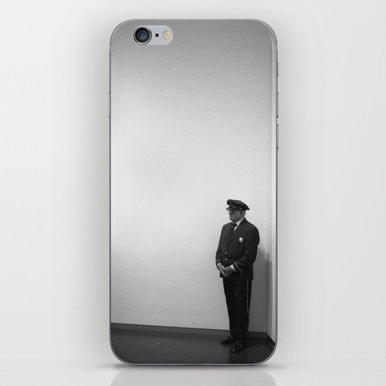 The Museum Guard iPhone & iPod Skin