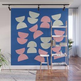 Abstract shapes 2 (Minimalism artwork) Wall Mural