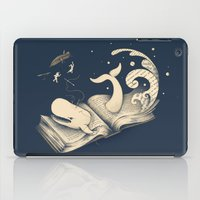 dick iPad Cases featuring Moby Dick by Enkel Dika