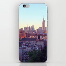 Empire State Building and the New York Skyline iPhone Skin