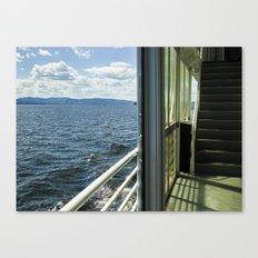 Burlington, Vermont Boat Ride.  Canvas Print
