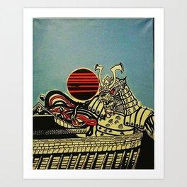 """SunTiger Harvest"" by aise Art Print"