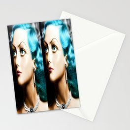 Double Joan Trouble Stationery Cards