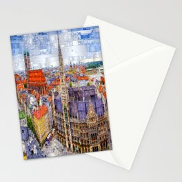 Munich Cityscape Stationery Cards