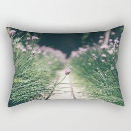Chive Field Rectangular Pillow