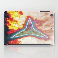big bang iPad Cases featuring Big Bang by Helle Gade