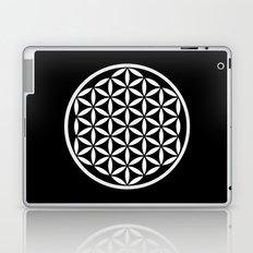 Flower of Life Yin Yang Laptop & iPad Skin