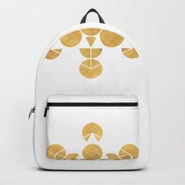 ICOSAHEDRON FRUIT OF LIFE minimal sacred geometry Backpack