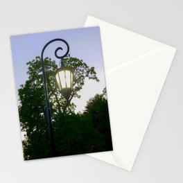 Sunset Lamppost Stationery Cards