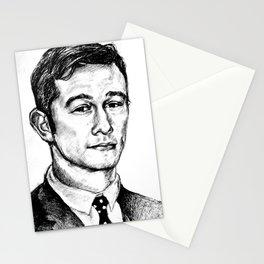 Joseph Gordon-Levitt drawing Stationery Cards