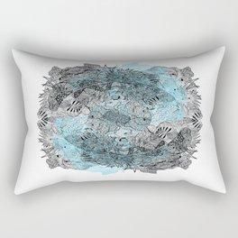 Die Seltsam (runde vier.) Rectangular Pillow