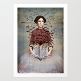 The Storybook Art Print
