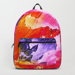 BRIGHT ABSTRACT PAINTING Backpack