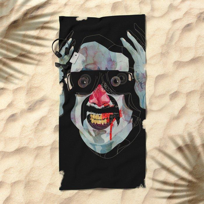 Alonso Quijada 02 Beach Towel