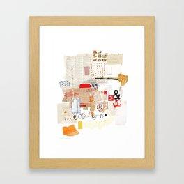 Flea Market Framed Art Print